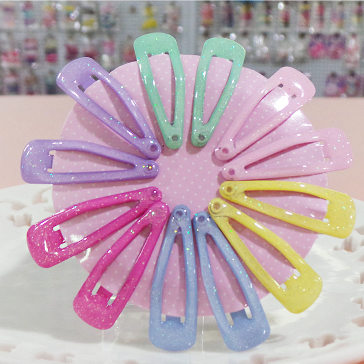 10pcs/lot Child BB Princess Hair Clips Bows Hairgrip Solid Barrette Children Hairpins Candy Color Girl Hairpin hair Accessories fashion barrette baby hair clip 10pcs cute flower solid cartoon handmade resin flower children hairpin girl hairgrip accessories