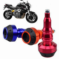 2 PCS Universal 10mm Motorcycle Falling Protector Motocross Crash Pad Protect CNC For Honda KTM Kawasaki