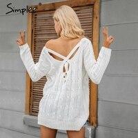 Simplee Apparel Loose Pullover Knitwear Jumpers