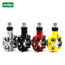 Wellgo WM001 Self-Locking pedals MTB bike clipless pedal Magnesium Alloy MTB Bicycle Pedals