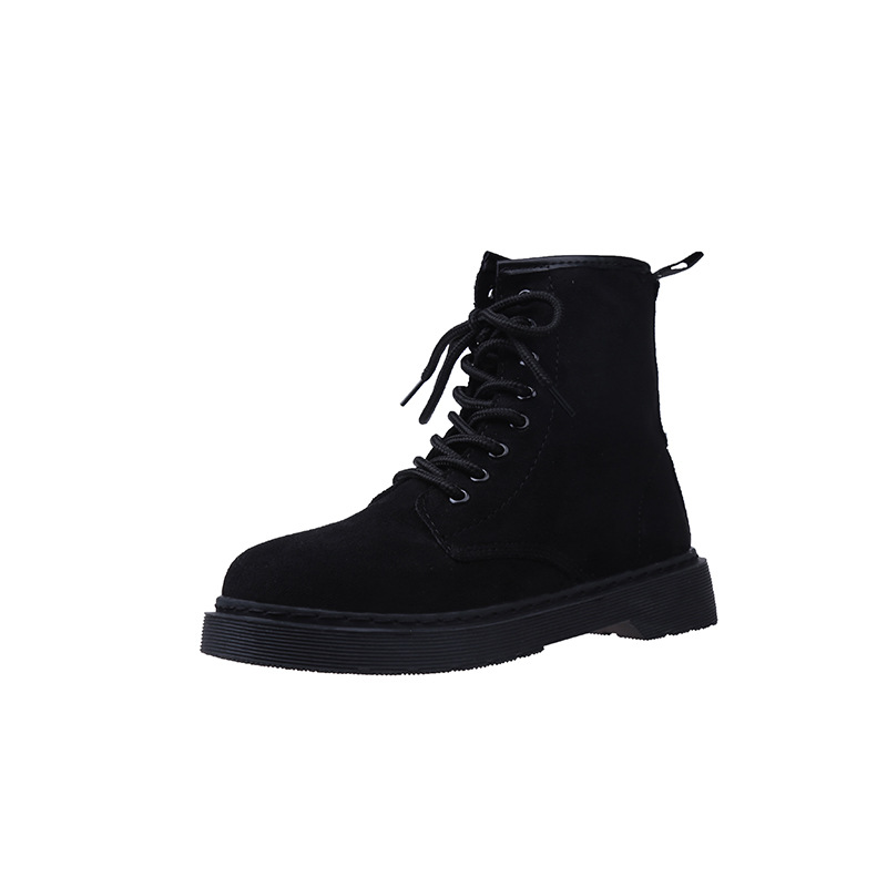 2019 autumn and winter European and American fashion retro thick-soled womens Martin boots black ljj 02162019 autumn and winter European and American fashion retro thick-soled womens Martin boots black ljj 0216