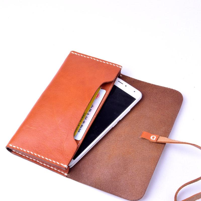 AETOO läder plånbok wome lång sektionsspänne manuell - Plånböcker - Foto 5