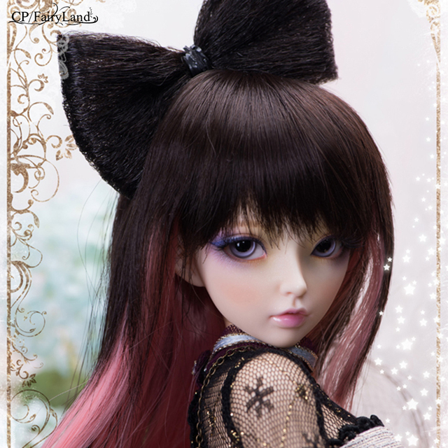 Free Shipping Minifee Celine BJD Dolls 1 4 Fashion Flexible Resin Figure Female Fairies Fullset Toy