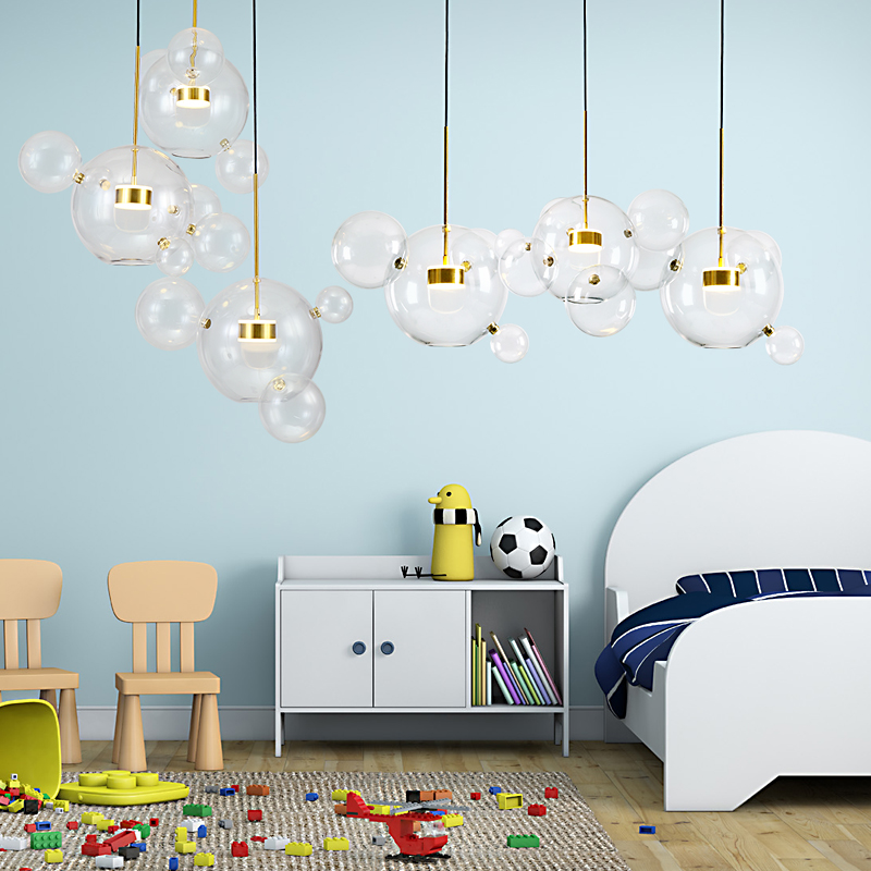 Bulb Chandelier Nordic Living Room