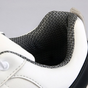 Image 4 - Golf Shoes Men Sport Shoes PGM Top Grain Leather Waterproof Male Golf Sneaker Rubber Bottom Anti slip Shockproof Male Shoes