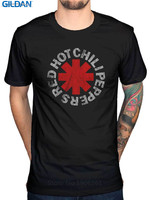 Tee Shirt Websites Gildan Short Sleeve Printing Red Hot Chili Peppers Rock Punk O Neck Mens