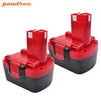 Powtree 3500mAh 3.5AH 14.4V Battery For Bosch 14.4 Volt BAT159 BAT038 BAT140 BAT040 BAT041 NI-MH With High quality Battery