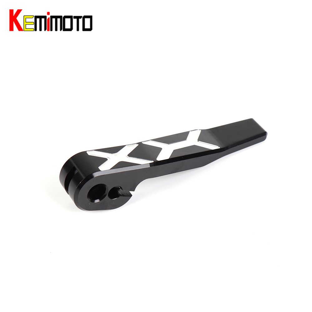 KEMiMOTO AK550 Parking Brake Lever For KYMCO 2017 Motorcycle Accessories AK 550 2018 CNC Aluminum Hand control lever 3D