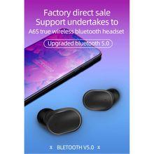 1Set A6S Mini Wireless In-Ear Bluetooth 5.0 Earphones Handfree Sports Stereo Hea