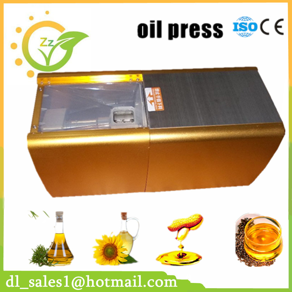 1pc small oil press machine Automatic stainless steel oil press High oil Extraction Rate Labor Saving