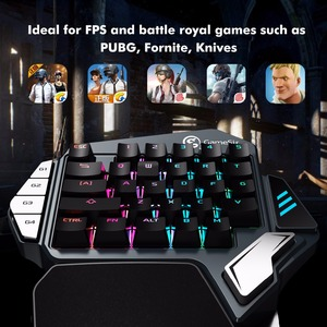 Image 5 - GameSir Z1 Gaming Keypad for PUBG FPS Mobile games, AoV,Mobile Legends, RoS. One handed Cherry MX red switch keyboard/BattleDock