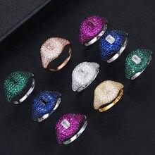 Godki Весенняя коллекция роскошных Штабелируемых шикарных колец