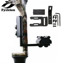 Archery CNC Bow Sight Scope Picatinny Bracket Mount for Hunting Red Dot Laser Sight Reflex