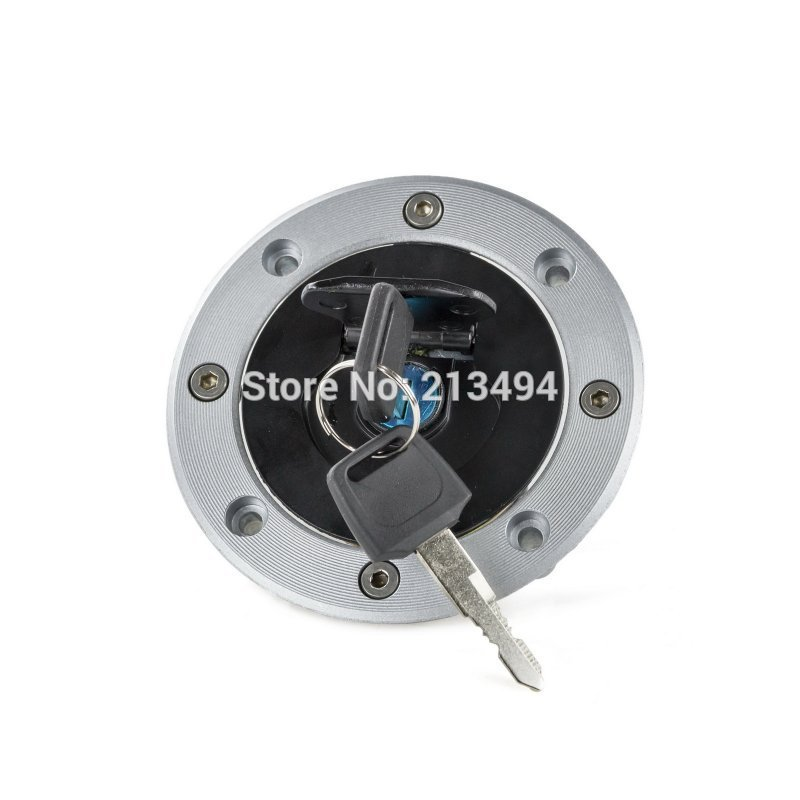 Motorcycle Fuel Tank Cap With Key For Suzuki GS600F GSX-R1000 2000-2002 Bandit GSF1200 2001-2005