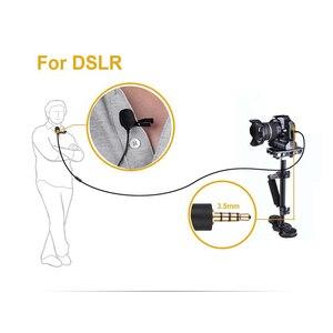 Image 4 - BOYA BY M1 Lavalier Omnidirectionele Condensator Microfoon voor Stereo DSLR Canon Nikon iPhone Camcorders Omroep Opname