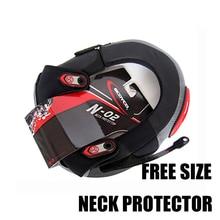 Защита шеи мотоцикла для гонок, для езды на мотоцикле, сильный протектор шеи, защита для мотокросса, защита голени