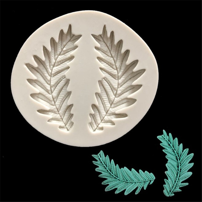 Olive Branch Silicone Cake Mould Fondant Sugar Craft Chocolate Decorating Tools