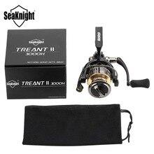 SeaKnight Fishing Reel Rod Combo 1.8M-3.6M Telescopic Fishing Rod TREANT II 2000H 3000H 4000H High Speed 6.2:1 Spinning Reel Set