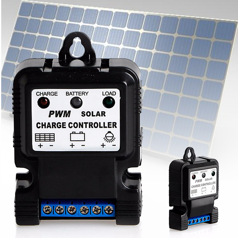 6v 12v 10a Auto Solar Panel Charge Controller Battery
