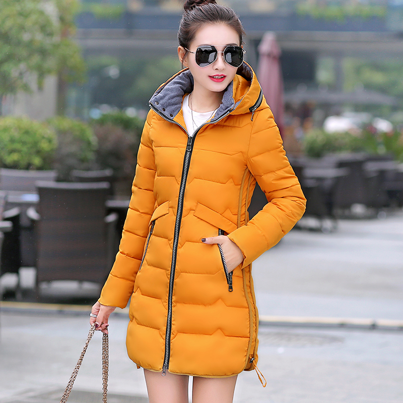 Big Size 7XL Winter Jacket Women 2017 New Europe Style Hooded Slim Medium Long Winter Plus Size Parkas Lady Top Coat Hot 0814 стоимость