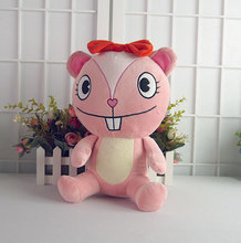 Happy Tree Friends anime plush dolls HTF Giggles cute plush toys 32cm soft pillow high quality for gift free shipping