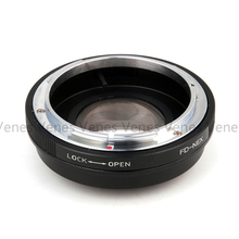 Venes Suit For FD -NEX Focal Reducer Speed Booster Lens Adapter to Suit for Sony E Mount NEX For A7s A5000 A3000 NEX-5R