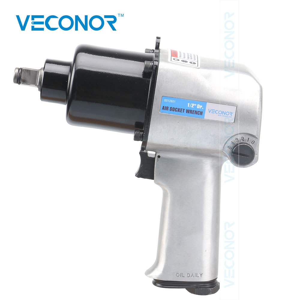 Pneumatic Tool 1/2 Square Drive Gun Pneumatic Pistol Hammer Impact Wrench Workshop Air Tools borntun pneumatic air screwdriver set 3 5mm pneumatic air screwdrivers 8000rpm screws driving gun tools screwdriving pistol 30nm