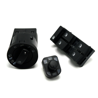3 Pcs 새로운 힘 창 AUDI A4 S4 B6 8E0 959 851 8E0 941 531B 8E0 959 565A|mirror switch|headlight mirrormirror button -