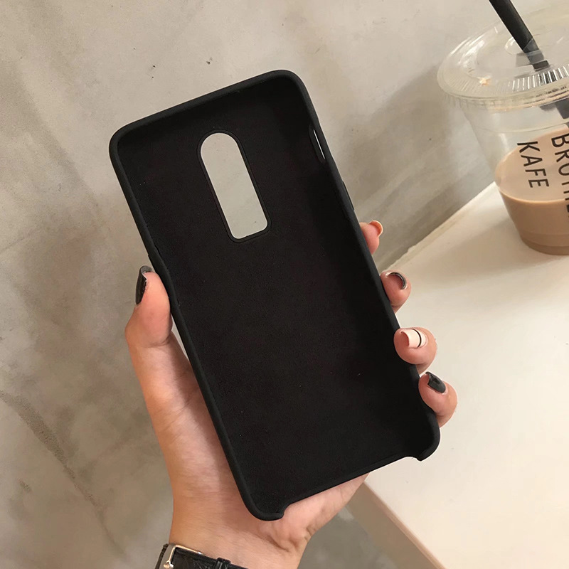Matte Candy Color Case For OnePlus 7 Pro 6T 6 Cases Soft TPU Back Covers Coque On the for One Plus 7 Pro 6T 6 Bumper Funda Capa in Fitted Cases from Cellphones Telecommunications