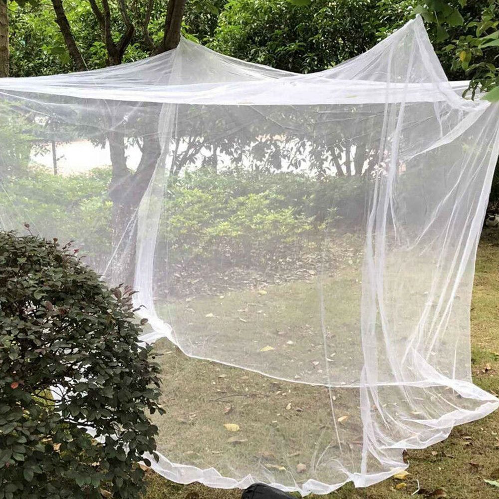 Large White Camping Mosquito Net Indoor Outdoor Storage Bag Insect Tent Mosquito Net Indoor Outdoor Storage Bag Insect Tent