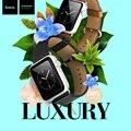 Hoco marca de Lujo venda de reloj de cuero correa de reloj 38mm 42mm para apple watch correa de pulsera banda de relojes saat kordonu
