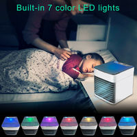 Mini Portable USB Air Conditioner fan filter Conditioning Humidifier Purifier 7 Colors Arctic Air Cooler Cooling Fan Home Office
