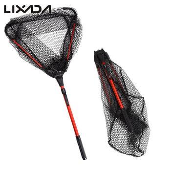 Best No.1 Lixada Portable Fly Fishing Landing Net Fishing Accessories cb5feb1b7314637725a2e7: style 1|style 2