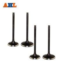AHL впускной и выпускной клапан комплект стволовых клапанов для HONDA CRF450X 2005- CRF450R 2002-2008 TRX450R 2006