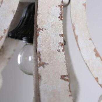 בציר מוצק עץ נברשת
