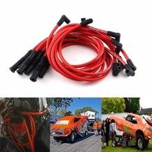 Набор высокопроизводительных проводов для свечей зажигания 8 шт./компл. 10,5 мм для HEI SBC BBC 350 383 454, электронный Стайлинг автомобиля