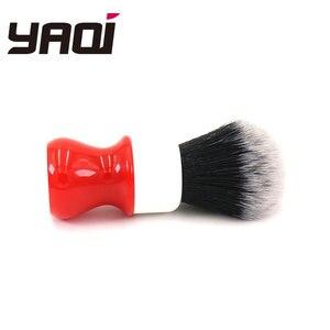 Image 4 - Yaqi 26mm ferrari áspero complexo branco versão escova de barbear com nó smoking