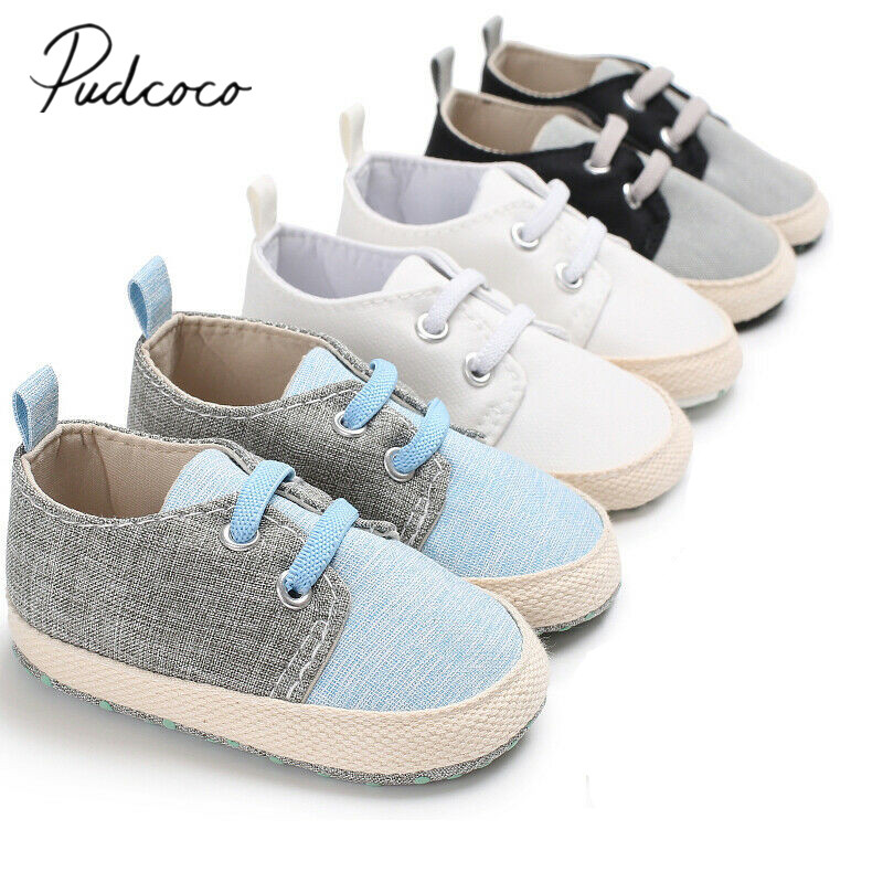 Baby Boy Girl Summer Shoes Infant Sneakers Toddler PreWalker Trainers 0-18M