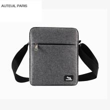 Men Waterproof Oxford Messenger bags Casual Briefcase Crossbody male single shoulder New Fashion AUTEUIL PARIS Envelope