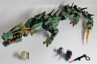 592pcs Ninja Movie Series Flying Mecha Dragon Building Blocks Bricks Baby Toys Children Gift Model Gifts