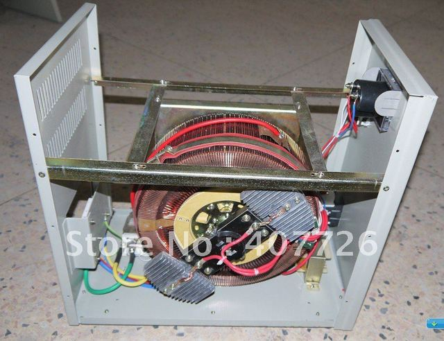 8KVA Voltage Regulator ac automatically Single phase,CE passed,Servo motor type,100% new,warranty 1 year