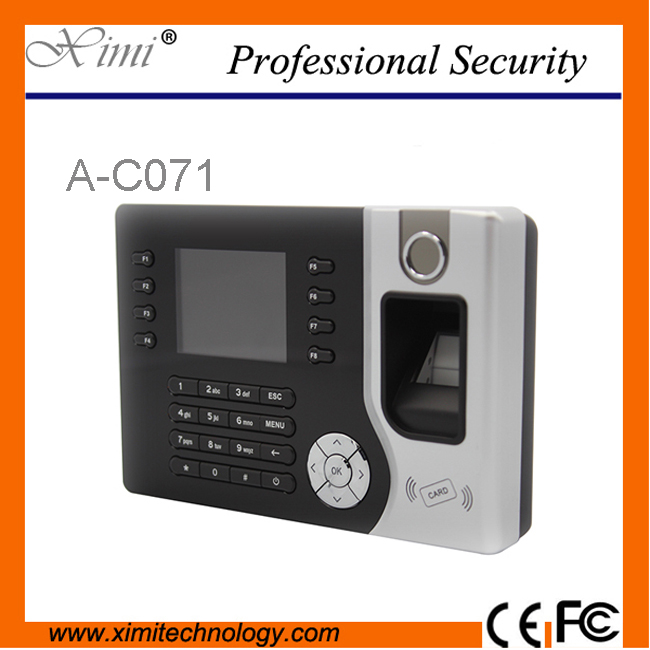 2.4 inch Screen Biometric Fingerprint Time Attendance , Support ID Realand A-C071Support ID Realand A-C071 P2P Cloud TCP/IP free shipping realand 3 2 tft biometric fingerprint time attendance system recorder clock support id card tcp ip