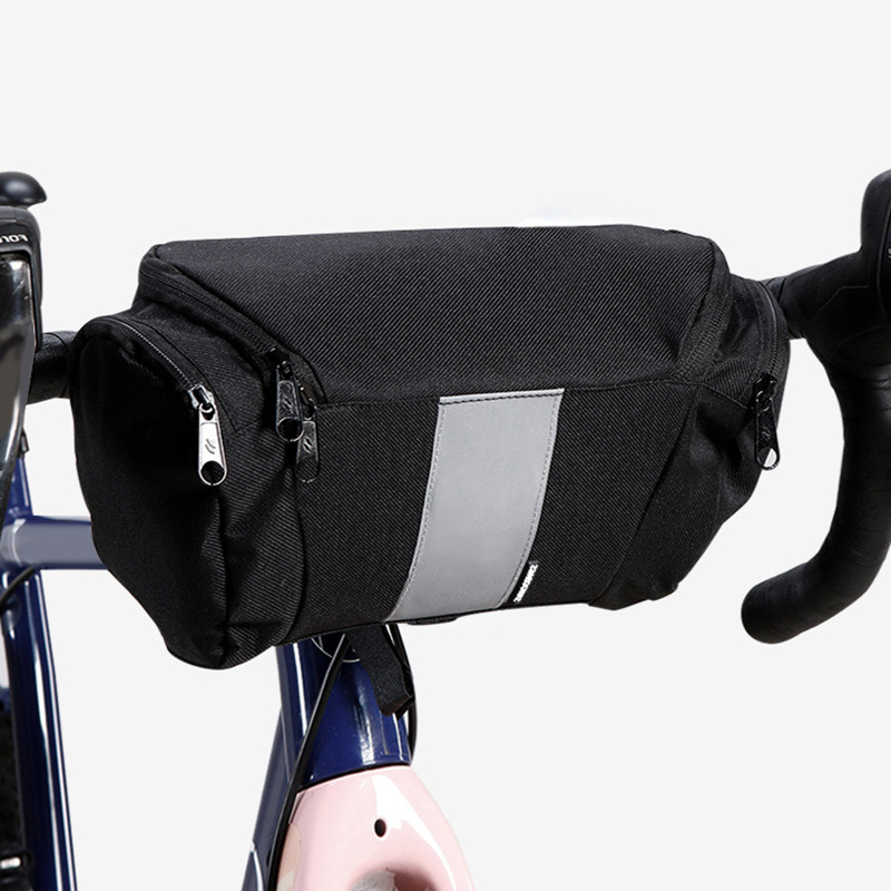 MTB road Bike Storage Pouch Cycle Bicycle Bag Front Frame Head Pipe Triangle Bag