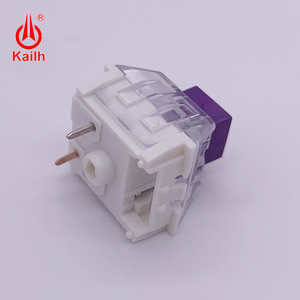 Image 2 - Kailh BOX Royal Switches  Purple DIY Mechanical keyboard Switches Dustproof IP56 waterproof tactile mx stem