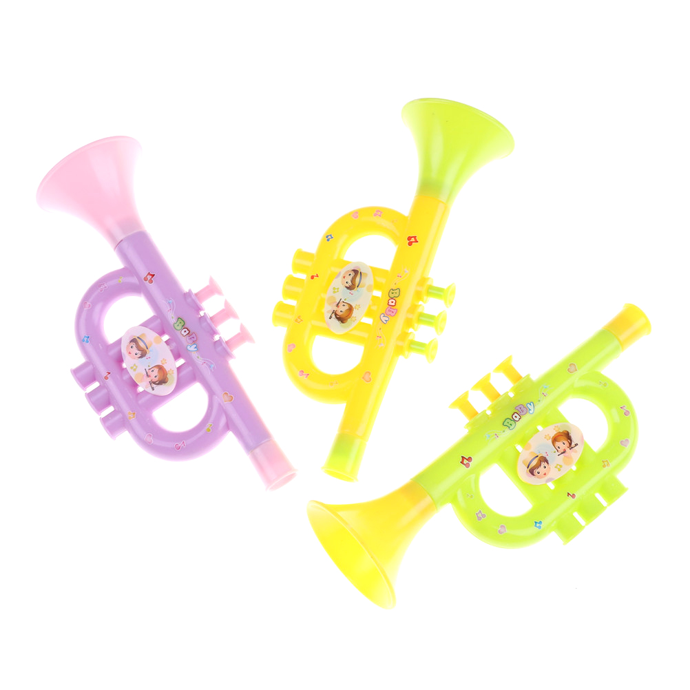 Colorful Instrument Baby Early Music Education Toys Random ...