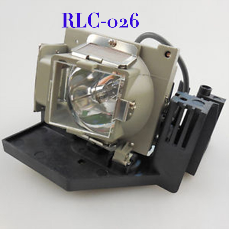 Free Shipping RLC-026 Projector Bare Lamp with housing For PJ568D/PJ588D Projector free shipping brand new rlc 038 projector lamp with housing module for viewsanic pj1173 projector