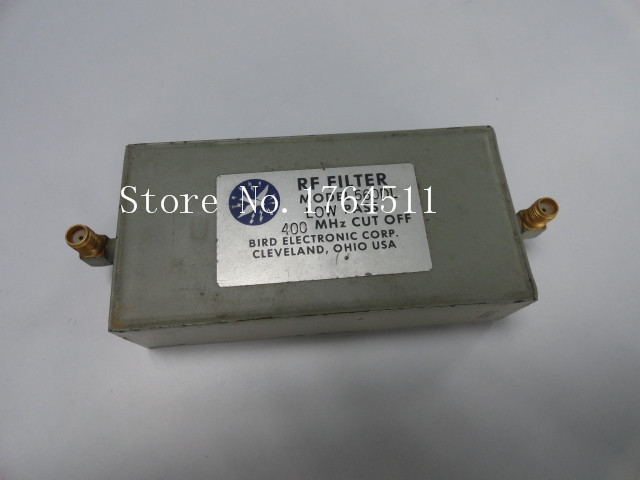 [BELLA] BIRD 560DL LPF DC-407MHz 54dB/470MHz RF SMA Low Pass Filter