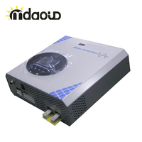 Hybrid off grid solar inverter 3kva 2400w DC24v TO AC 220v/230v pure sine wave/35A mppt charger CONTROLLER CABLE