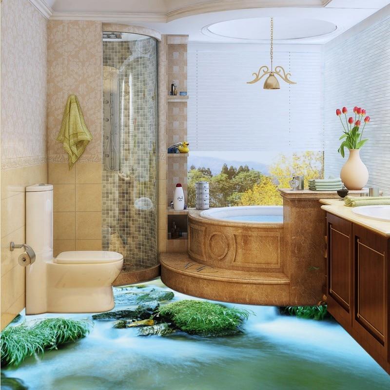 Free Shipping Alpine water flooring wallpaper living room office kitchen self-adhesive floor mural эра стабилизатор sta 1000