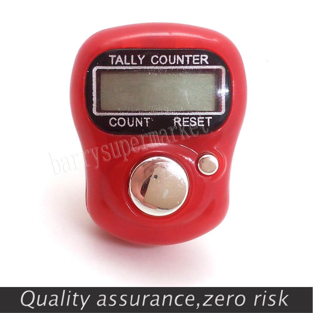 10 db mini számláló digitális kézi számláló FingerRing Tally - Mérőműszerek - Fénykép 3